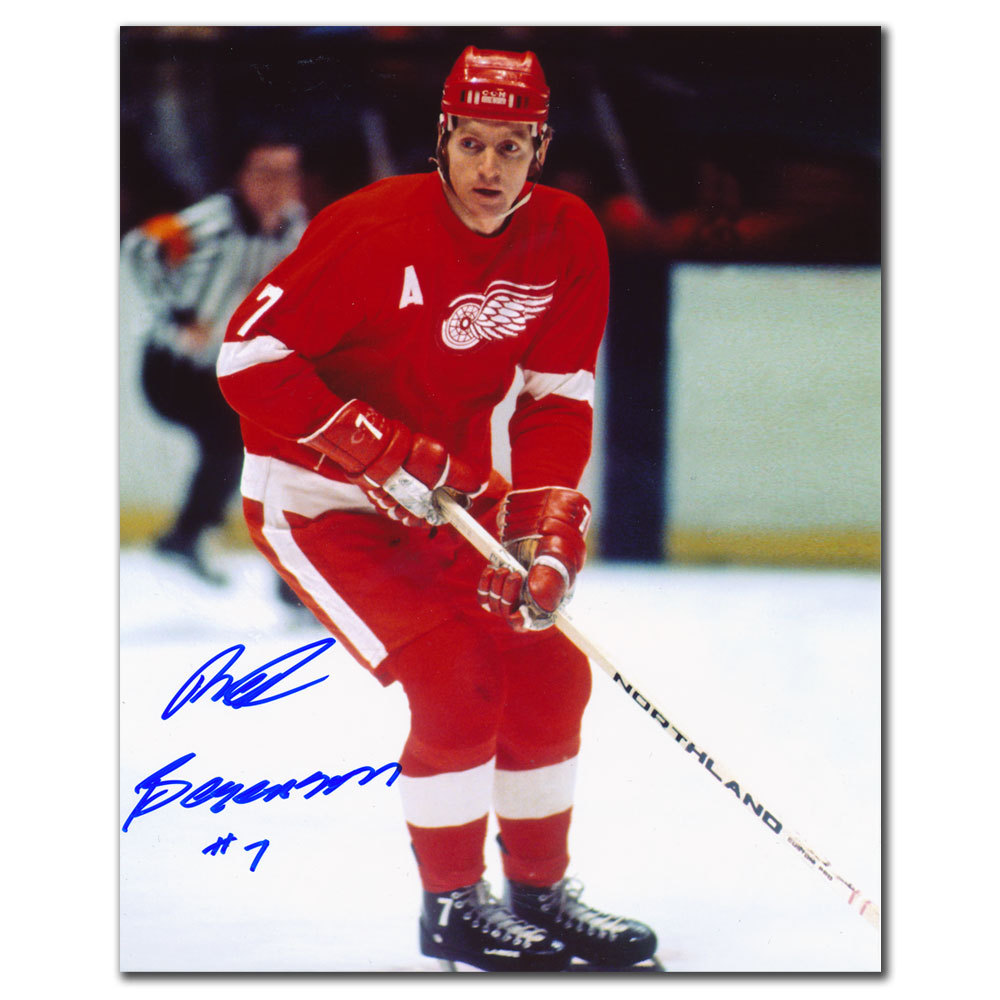 Red Berenson Detroit Red Wings Autographed 8x10
