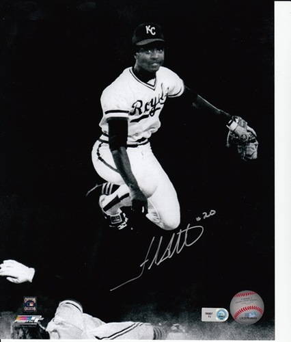 Photo of Frank White Autographed 8x10