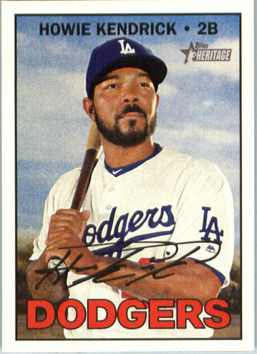 Photo of 2016 Topps Heritage #575 Howie Kendrick