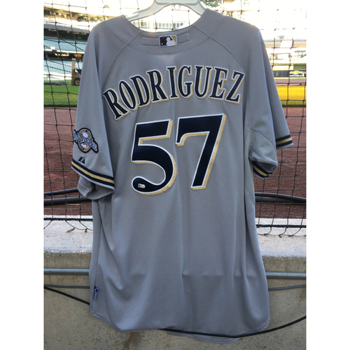 2014 Francisco Rodriguez Game-Used Jersey - 1.0 IP, 2 SO, 0 ER (5/21/14)