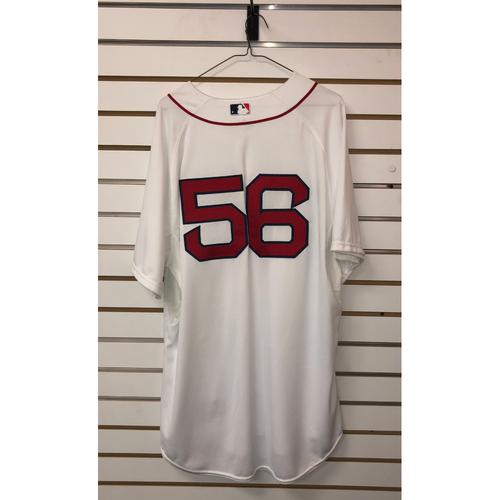Photo of #56 Team-Issued 2014 Home Jersey