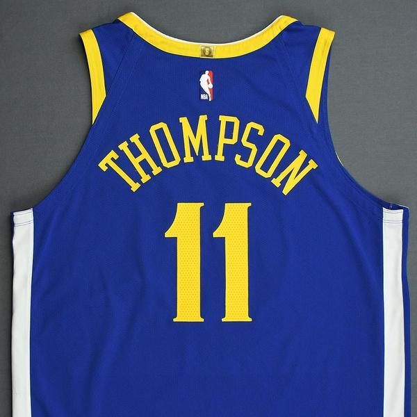 finest selection 6060b aa1e2 Klay Thompson - Golden State Warriors - 2019 NBA Playoffs ...