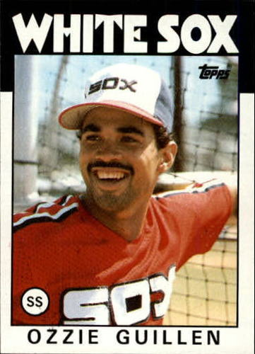 Photo of 1986 Topps #254 Ozzie Guillen RC