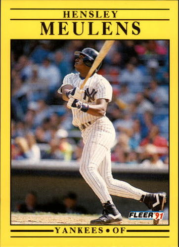 Photo of 1991 Fleer Update #47 Hensley Meulens
