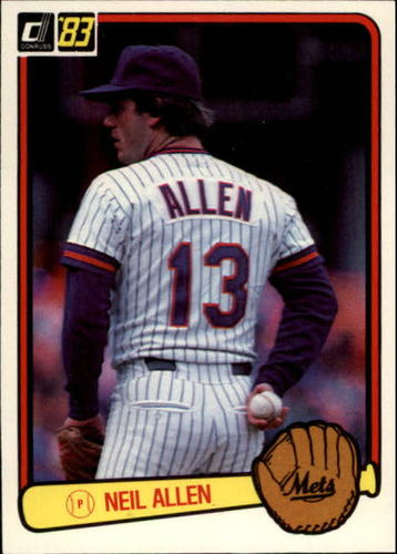 Photo of 1983 Donruss #98 Neil Allen