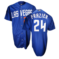 Photo of Todd Frazier #24 Las Vegas 51s 2018 Alternate Jersey