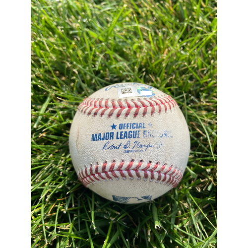 Cardinals Authentics: Game Used Baseball Pitched by Tejay Antone to Brad Miller *Home Run*