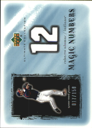 Photo of 2001 Ultimate Collection Magic Numbers Game Jersey #MNRA Roberto Alomar