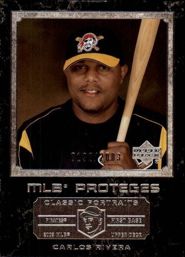 Photo of 2003 Upper Deck Classic Portraits #161 Carlos Rivera MP