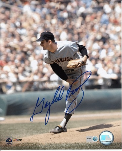 Photo of Gaylord Perry Autographed 8x10