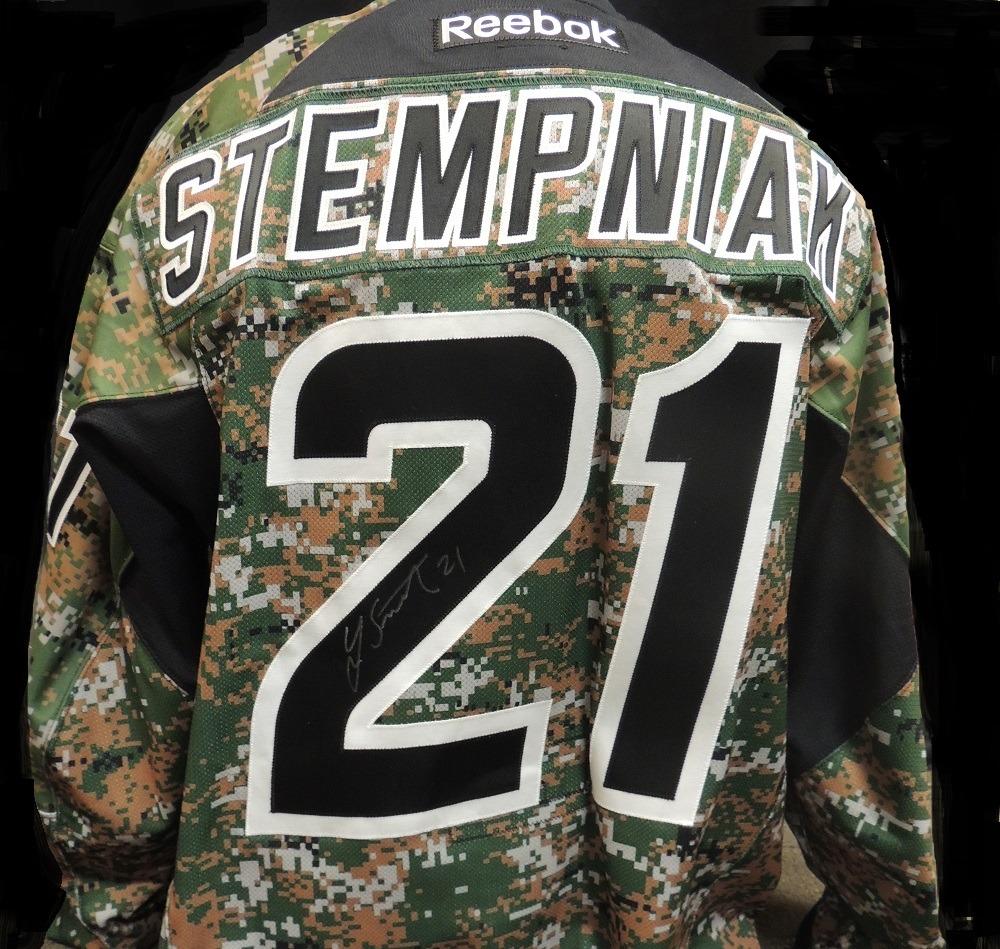 Carolina Hurricanes Lee Stempniak #21 Military Appreciation Jersey