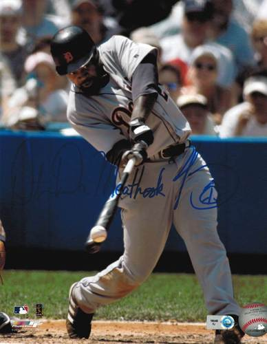 "Photo of Dmitri Young ""Da Meat Hook"" Autographed 8x10"