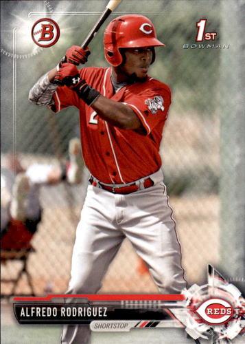 Photo of 2017 Bowman Prospects #BP94 Alfredo Rodriguez