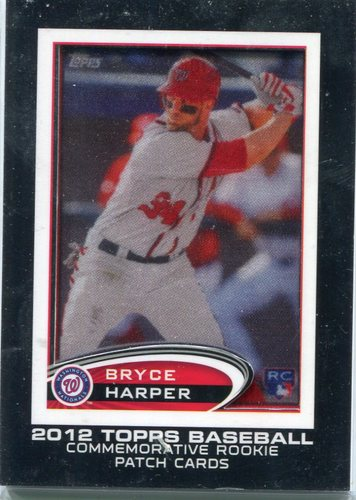 Photo of 2014 Topps Manufactured Commemorative Rookie Card Patch Bryce Harper
