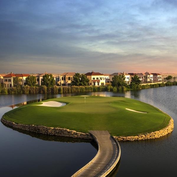 Photo of Play in the Hilton Golf Championship Grand Final in Dubai