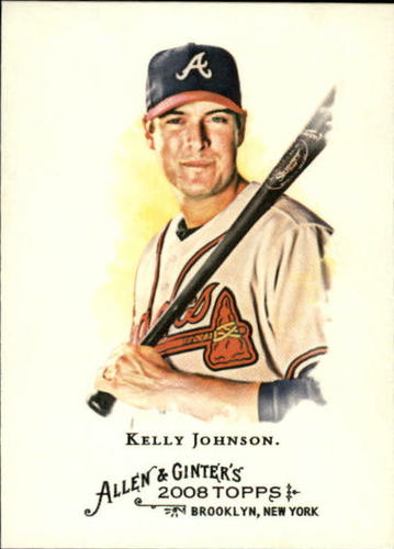 Photo of 2008 Topps Allen and Ginter #188 Kelly Johnson