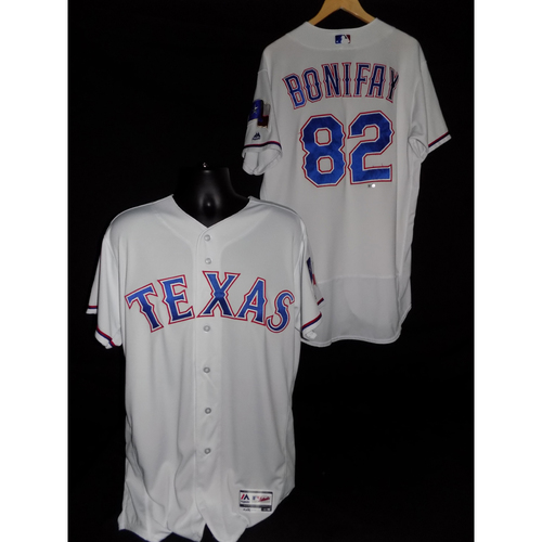 Photo of Josh Bonifay Game-Used Home Jersey - Size 46