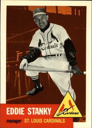 Photo of 1991 Topps Archives 1953 #300 Eddie Stanky
