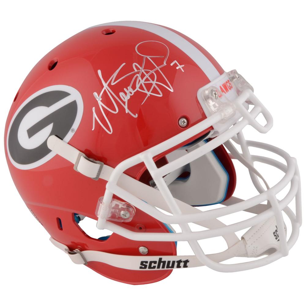Matthew Stafford Georgia Bulldogs Autographed Riddell Pro-Line Helmet