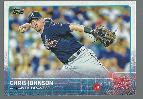 Photo of 2015 Topps #283 Chris Johnson