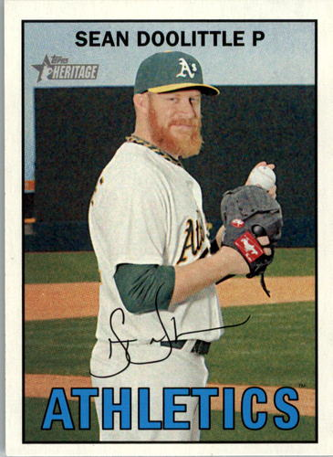 Photo of 2016 Topps Heritage #418 Sean Doolittle