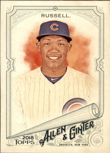 Photo of 2018 Topps Allen and Ginter #283 Addison Russell