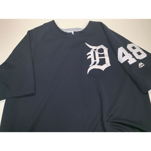 Photo of Team-Issued #48 Home Batting Practice Jersey