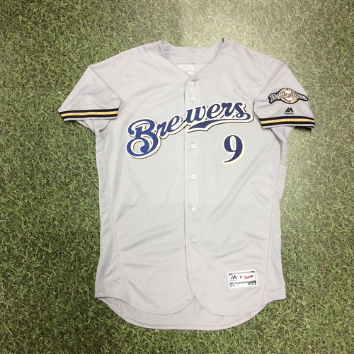 Manny Pina 2018 Game-Used Opening Day Jersey