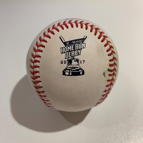 Photo of 2017 Home Run Derby - Game Used Baseball - Batter: Gary Sanchez -  Round 1 Out