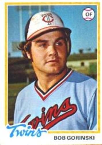 Photo of 1978 Topps #386 Bob Gorinski RC