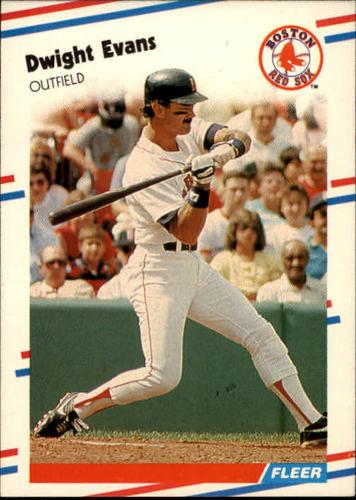 Photo of 1988 Fleer #351 Dwight Evans