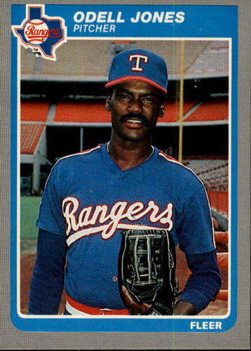 Photo of 1985 Fleer #560 Odell Jones