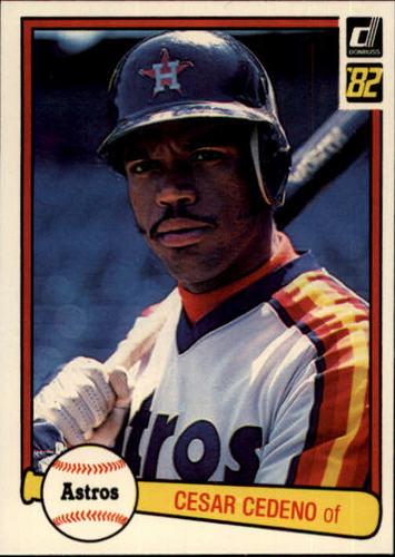 Photo of 1982 Donruss #118 Cesar Cedeno