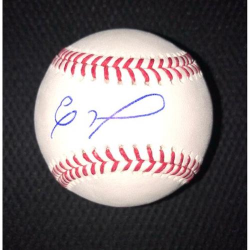 Eloy Jimenez Autographed Baseball
