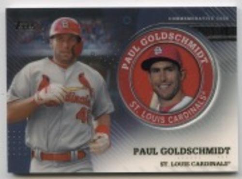 Photo of 2020 Topps Player Medallions #TPMPG Paul Goldschmidt
