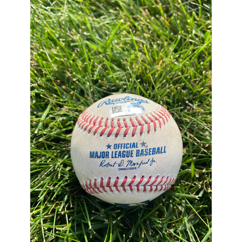 Photo of Cardinals Authentics: Game Used Baseball Pitched by Amir Garrett to Harrison Bader *Home Run 3RBI*