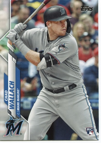 Photo of 2020 Topps #658 Chad Wallach RC