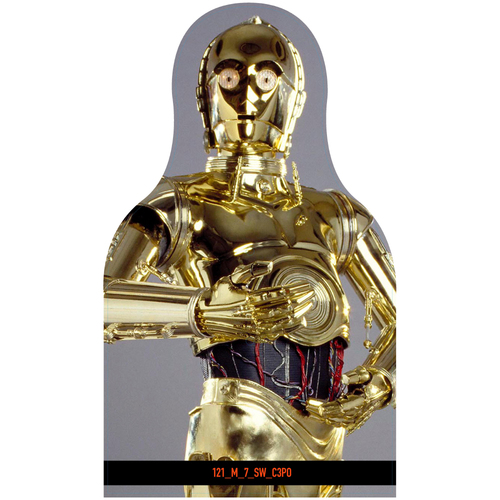 Photo of Giants Community Fund: Giants C3P0 Cutout