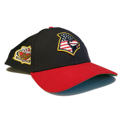 Photo of Alex Reyes Team-Issued Memphis Redbirds 2019 Independence Day Hat
