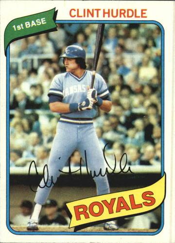 Photo of 1980 Topps #525 Clint Hurdle