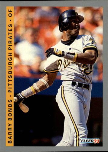 Photo of 1993 Fleer #112 Barry Bonds