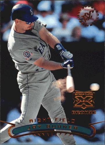 Photo of 1996 Stadium Club Extreme Players Bronze #333 Jay Buhner