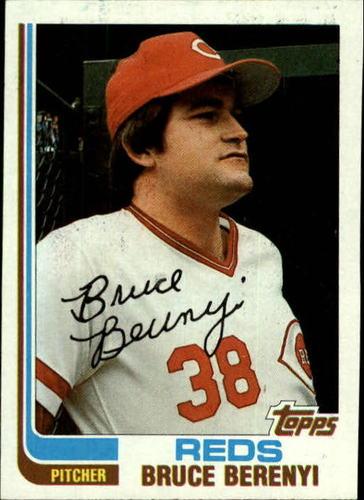 Photo of 1982 Topps #459 Bruce Berenyi