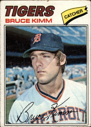 Photo of 1977 Topps #554 Bruce Kimm RC