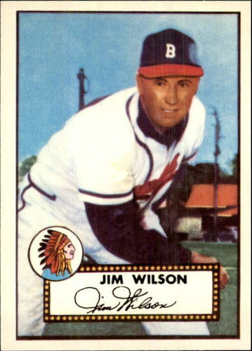 Photo of 1983 Topps 1952 Reprint #276 Jim Wilson