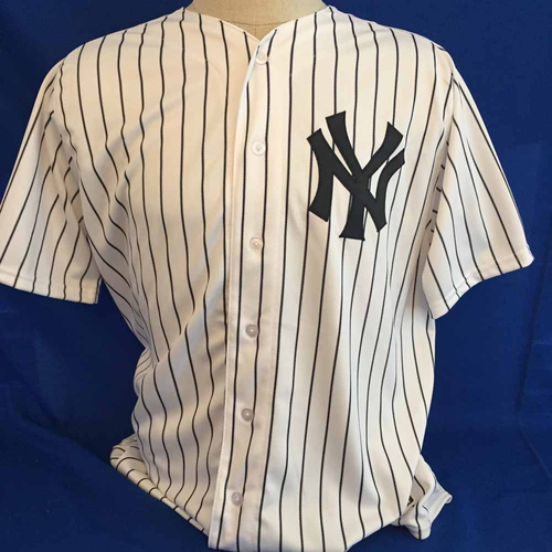 Photo of UMPS CARE AUCTION: Giancarlo Stanton Yankees Jersey Size 48