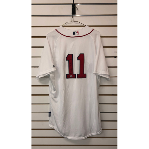 Photo of Clay Buchholz Autographed Authenticate Home Jersey