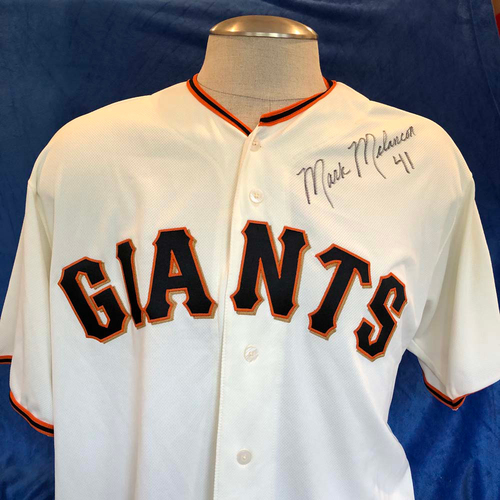 Photo of UMPS CARE AUCTION: Mark Melancon Signed Jersey, Size 52