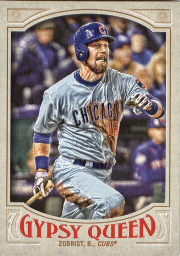 Photo of 2016 Topps Gypsy Queen #104 Ben Zobrist