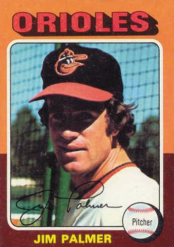Photo of 1975 Topps #335 Jim Palmer